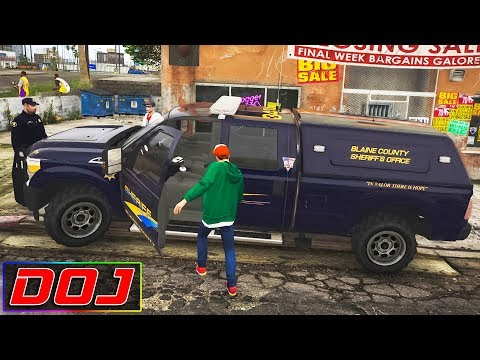GTA 5 Roleplay - DOJ #91 - Hijacking Spree
