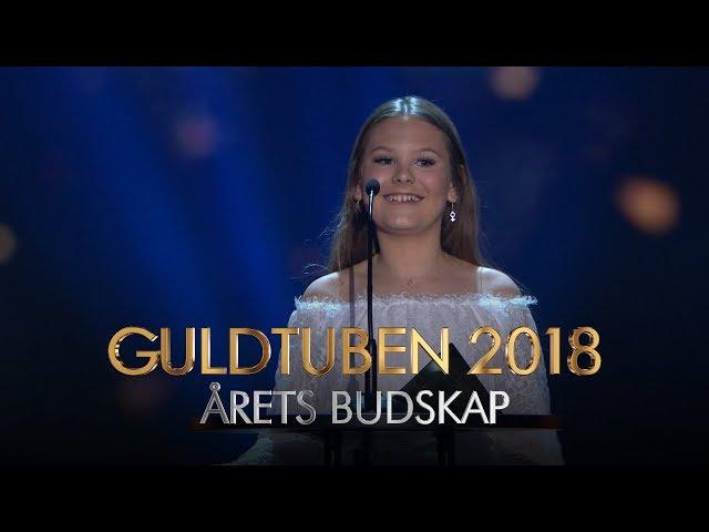 ÅRETS BUDSKAP | GULDTUBEN 2018