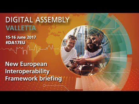 #DA17: New European Interoperability Framework briefing