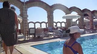 Турция Анталья Hotel Club Sera 5* октябрь 2018 Бассейн с морской водой