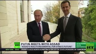 'Russia recognizes important role Assad will play in ISIS defeat & future of Syria' – expert