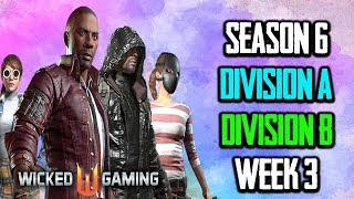 S6R3 Division B + Division A Wicked Gaming Tournament PUBG MOBILE