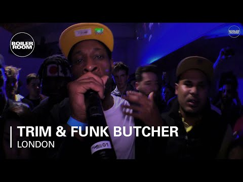 Trim & Funk Butcher ICA x Boiler Room London Live Performanc