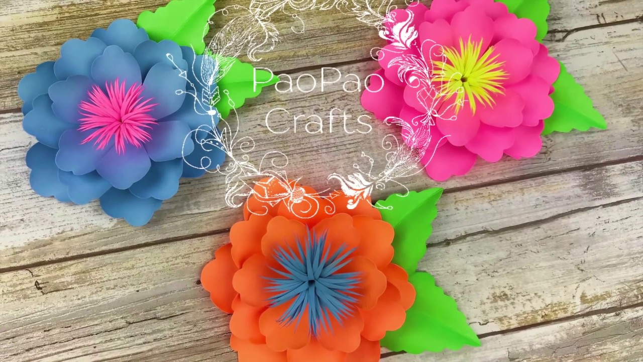 Moldes Gratis Mini Flores De Papel Free Templates How To Make Small Paper Flower