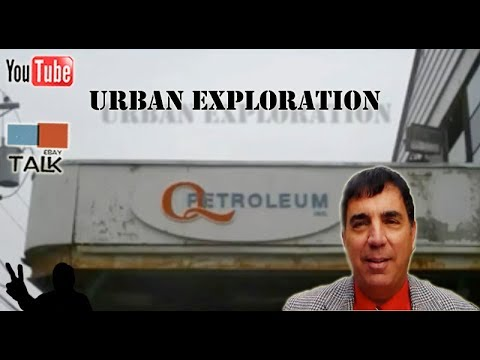 UE - Exploring the Abandoned Qatar Oil Depot in Newark NJ