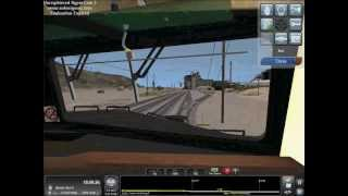 Train Simulator 2013 xbox 360 controller gameplay