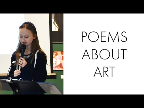 Poems About Art – Katonah Elementary School