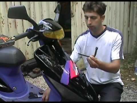 Как установить сигнализацию на скутер Honda и на китайские скутеры. Начало
