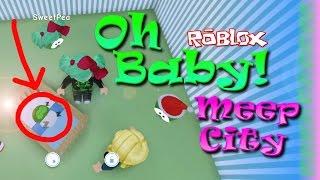 OH BABY! | ROBLOX | MEEP CITY | SallyGreenGamer