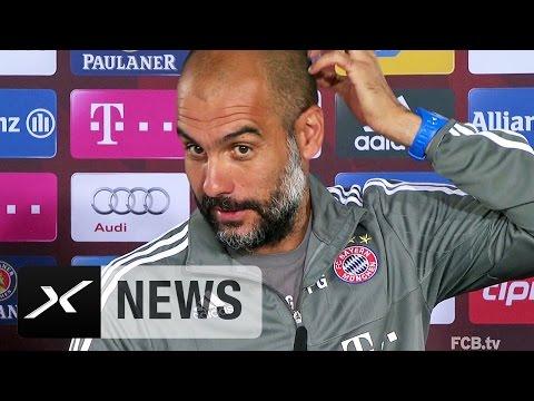 FCB-Mentalitäts-Problem? Pep Guardiola  kontert Ottmar Hitzfeld | FC Bayern München