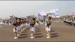 Marching Band Gita Jata Wiratama STTD- Bekasi : Wisuda Terpadu 2016