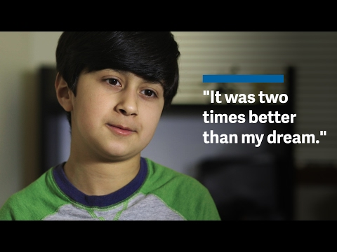 A 10-year-old Iraqi refugee's new life in the US