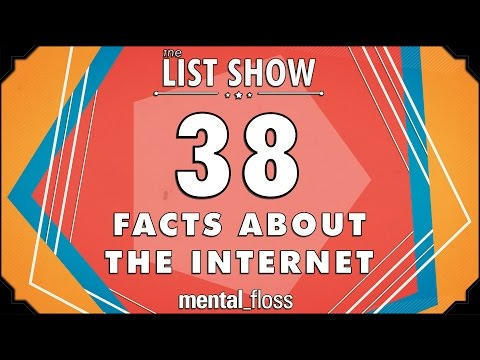 38 Facts about the Internet - mental_floss List Show Ep. 414
