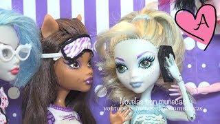 Historias de Monster High en español | Muñecas y juguetes con Andre para niñas y niños