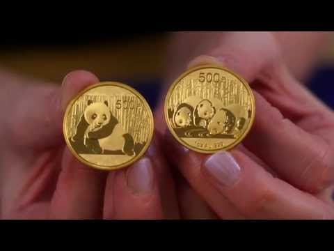 Chinese Gold and Silver Panda Bullion Coin Information