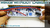 How to connect brushless motor controller wires 250W 36V