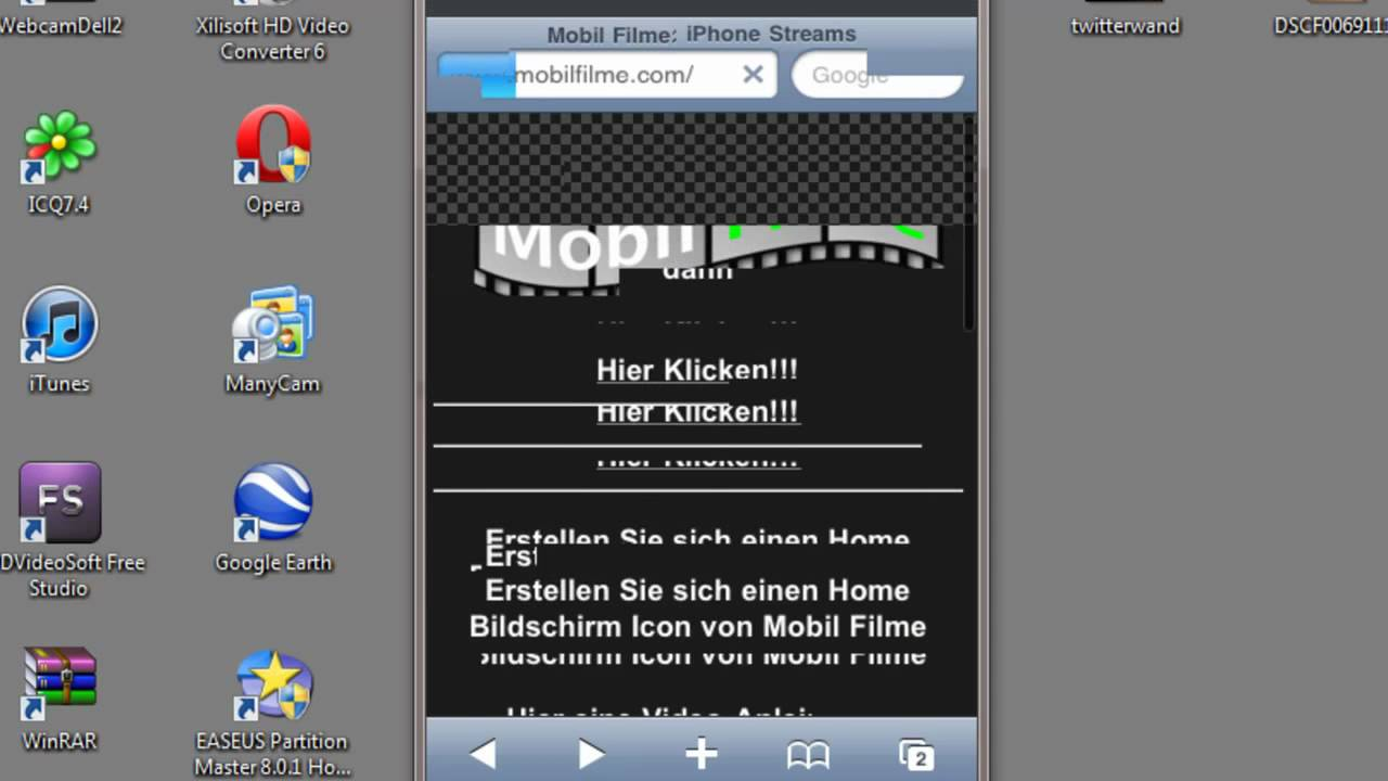 Mobil Filme Schauen