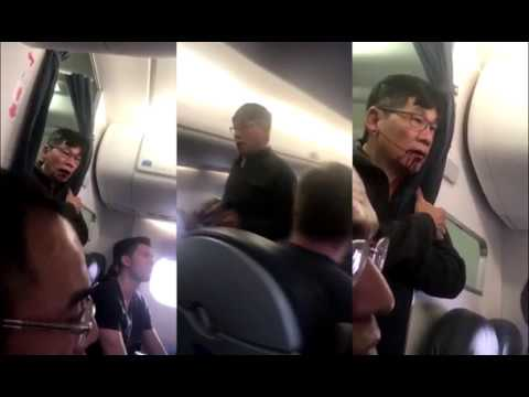 Thumbnail: All angles of Doctor dragged from United Airlines flight
