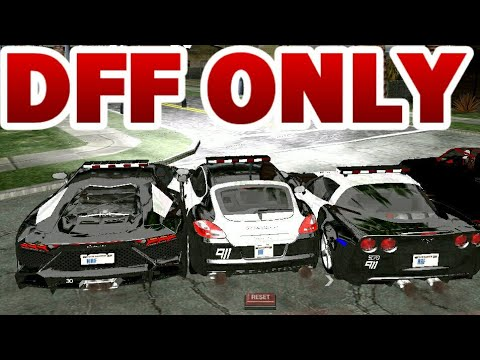 Gta Sa Android 4 Police Cars Pack Dff Only No Txd Hq Ultra Reflection 2017 Youtube