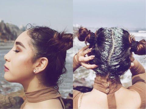 Glam Grunge Make Up & Glitter Hair / Destiny Lowell