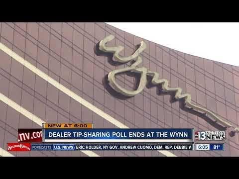 Wynn Las Vegas ending dealer tip pool