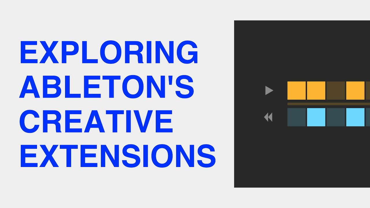 Tutorial video: Creative Extensions tips and tricks | Ableton