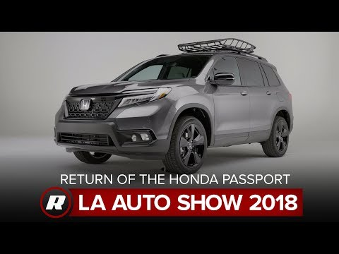 The Honda Passport is back, making its debut | 2018 LA Auto Show
