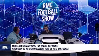 Ligue des champions : Di Meco explique pourquoi il ne commentera pas le PSG en finale