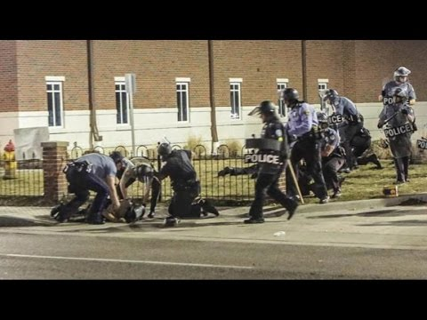 Ferguson Shooting: Two Police Shot, Suspect on the Run
