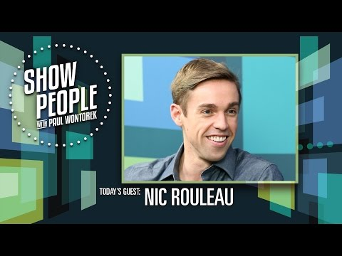 Show People With Paul Wontorek Nic Rouleau Of The Book Of Mormon