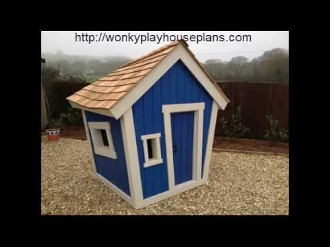 Wonky Playhouse Plans Youtube