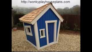 Wonky Playhouse Plans