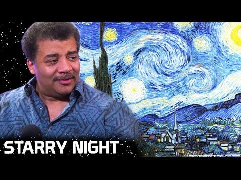 """neil-degrasse-tyson-on-van-gogh's-""""starry-night"""""""
