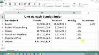 Excel Tipps und Tricks #37 Namen aus Zellen automatisch erstellen & in Formeln verwenden