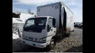 Qa Auctions USA - 2007 ISUZU NPR Delivery, Dump & Box Truck For Sale
