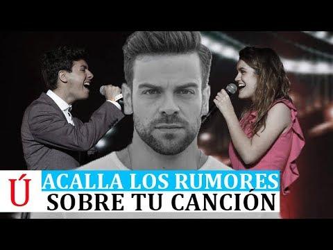 Ricky acalla los rumores sobre Tu Canción de Amaia, Alfred para Eurovision Operación Triunfo 2017
