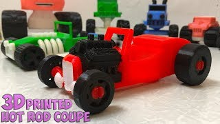 Hot Rod Coupe - 3d print