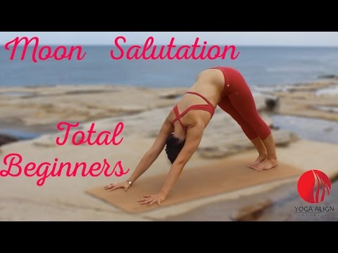 Chandra Namaskar (Moon Salutation) - Total Beginners