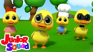 Download Mp3 Bebek kecil yang lucu Lagu anak anak Bayi sajak Junior Squad Indonesia Kartun untuk anak