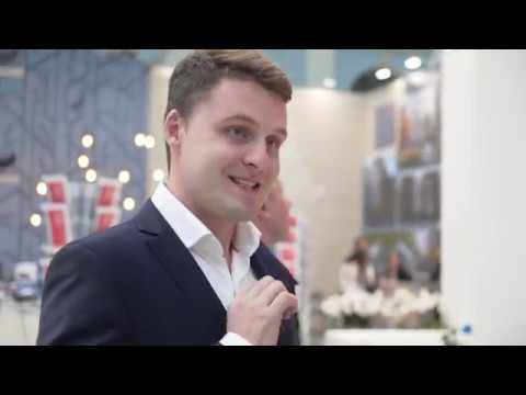 """Директор по продажам ГК МИЦ Дмитрий Батлук на 39 выставке-ярмарке """"Недвижимость от лидеров"""""""