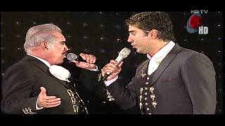 Watch Vicente Fernandez Perdn dueto video
