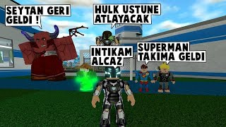 46IN SUPERHERO. DAY SUPERMAN AND ZOOM TEAM / Roblox English / MadCity Roleplay