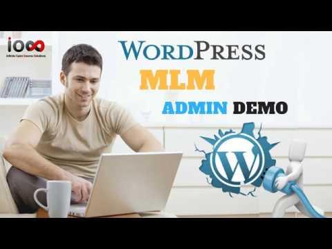 WP MLM Software Admin Demo