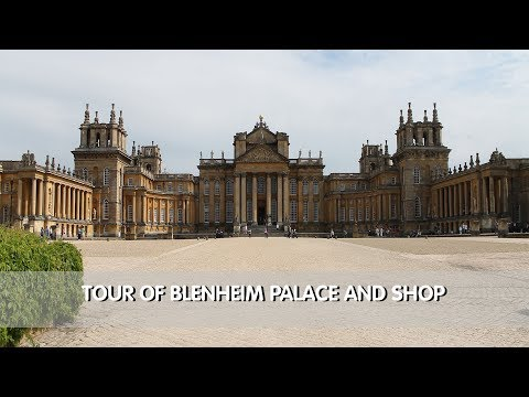 Tour of Blenheim Palace & Gift Shop