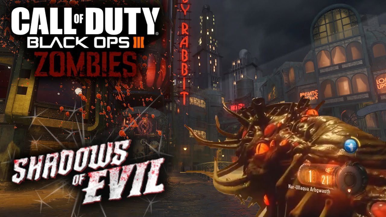 Black ops zombies gameplay shadows of evil walkthrough