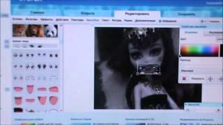 Видео - Урок #1 Как сделать смайлик на лице куклы?
