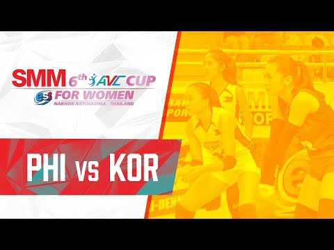 South Korea def. Philippines, 3-1 (REPLAY VIDEO) 2018 AVC Cup | September 21
