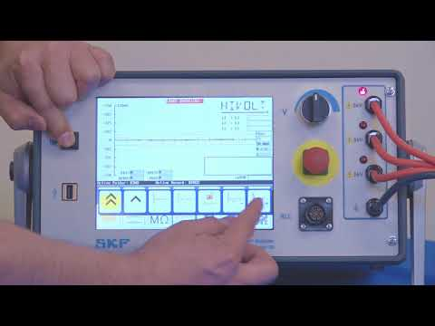 SKF Baker DX Surge PD (partial discharge) test