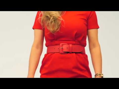 H.A.N. | Luxe Lederen Dames Riem | Koraal | Leatherbelove.com