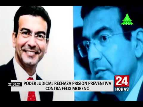 PJ rechazó pedido de prisión preventiva para Félix Moreno